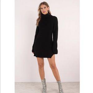 Toni Knit turtleneck sweater dress